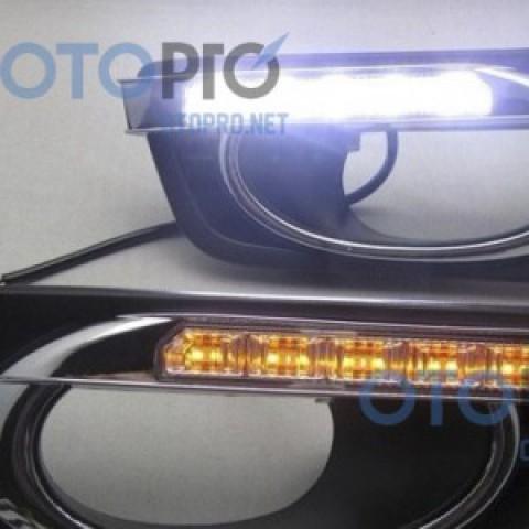 Đèn LED daylight 2 màu cho Honda City 2013