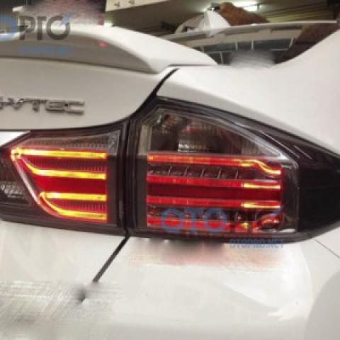 Đèn hậu độ LED nguyên bộ cho Honda City 2014-2016 mẫu MC nhập khẩu Thái Lan