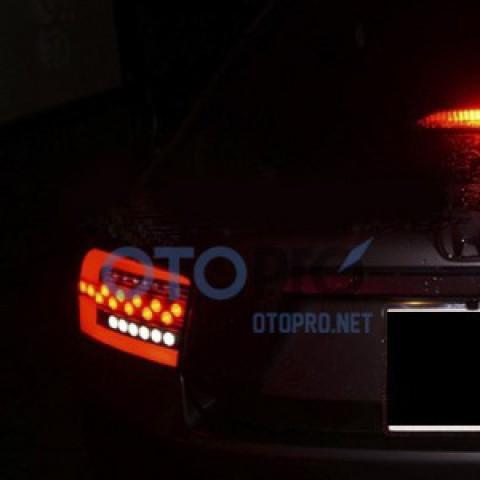 Độ đèn hậu LED cho xe Honda City 2012