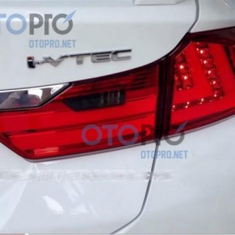 Đèn hậu độ LED nguyên bộ cho xe City 2014-2015 mẫu Lexus