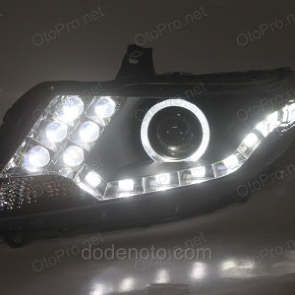 Đèn pha độ LED nguyên bộ cho xe Honda City