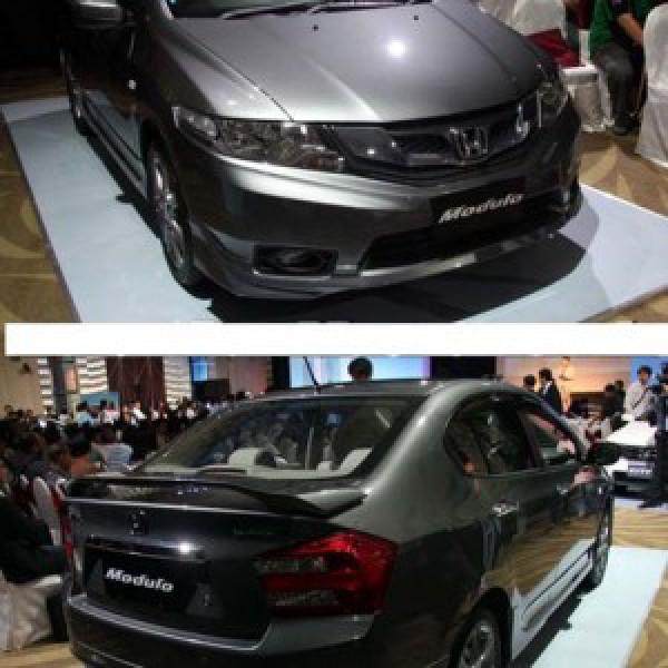 Body lip cho xe Honda City 2012 mẫu Modulo