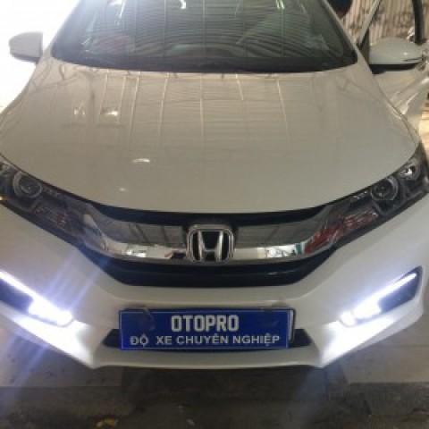 Honda City 2016 lắp đèn nguyên bộ