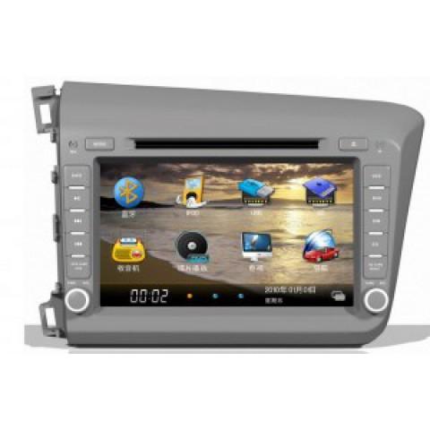 Màn hình đầu DVD cho xe Honda Civic 2013