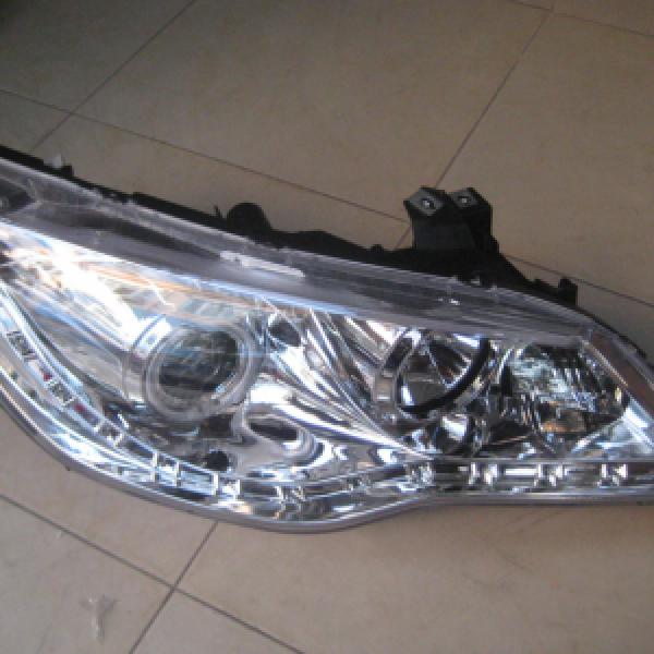 Bộ đèn pha kiểu Audi chóa trắng cho Honda Civic