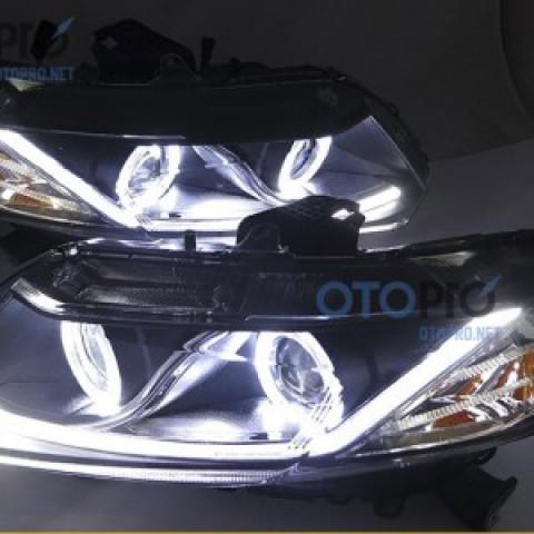 Đèn pha độ nguyên bộ xe Civic 2014-2015 LED khối mẫu 2