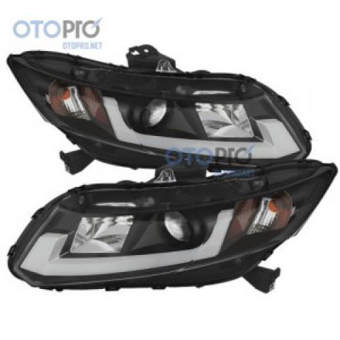 Đèn pha độ nguyên bộ xe Civic 2014-2015 mẫu LED khối