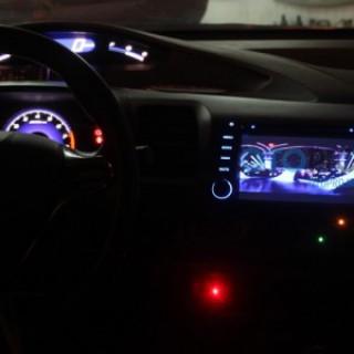Đầu DVD có màn hình Chtechi theo xe Honda Civic
