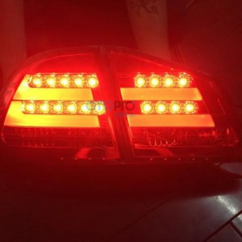Đèn hậu độ LED nguyên bộ cho Civic 2006-2011 mẫu RS phủ khói