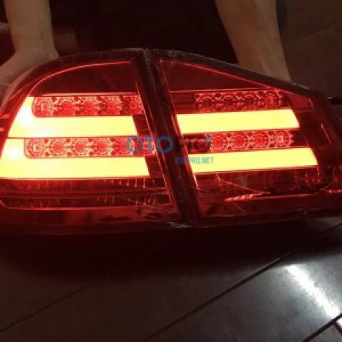 Đèn hậu LED cho Civic 06-09 mẫu đỏ khói