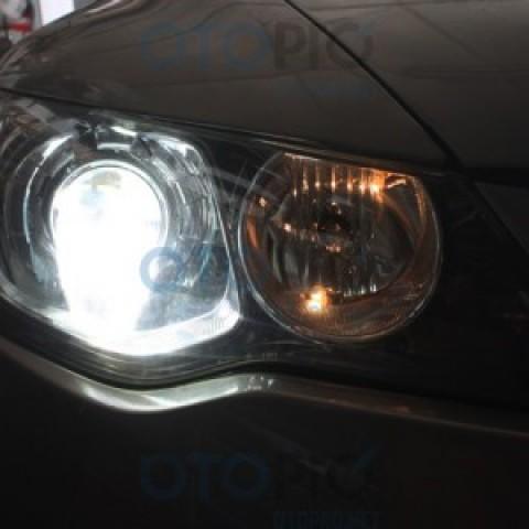 Độ Bi-Xenon Q5 H4 cho Honda Civic