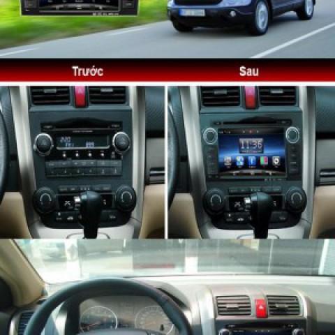 DVD theo xe Honda CR-V