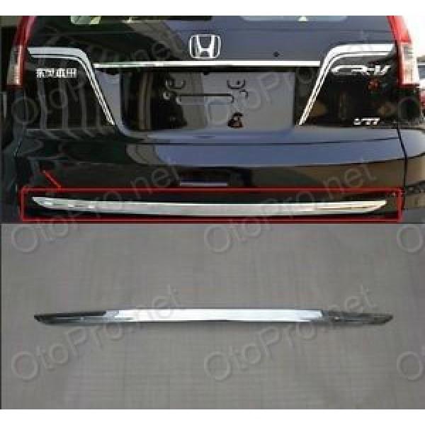 Nẹp trang trí cốp sau mạ crôm cho xe Honda CR-V 2013