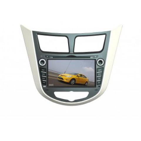 Màn hình đầu DVD cho xe Hyundai Accent/verna 2009-2012