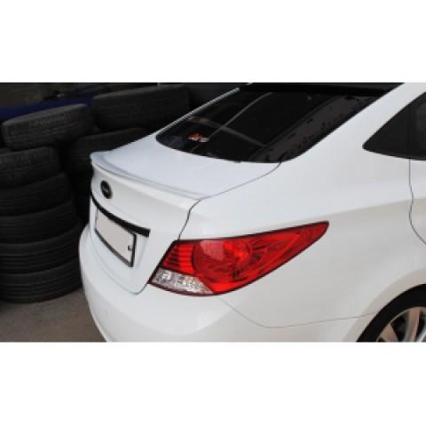 Đuôi gió liền cốp cho Hyundai Accent 2011