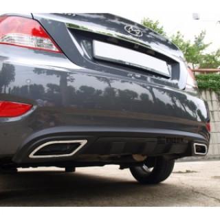 Ốp bô kiểu Lexus cho xe Hyundai Accent 2011
