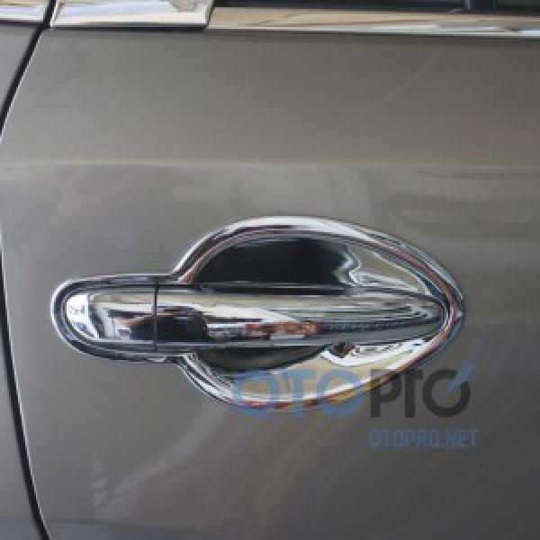 Ốp tay nắm cửa mạ crôm cho xe Hyundai Accent 2014