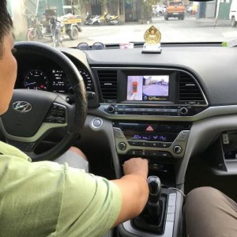 Camera 360 cho xe Hyundai Elantra