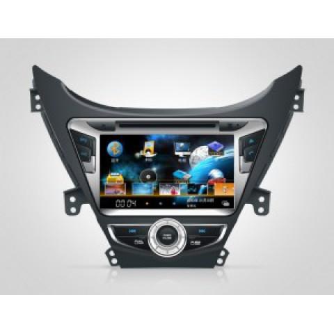 Màn hình đầu DVD cho xe Hyundai Elantra 2013