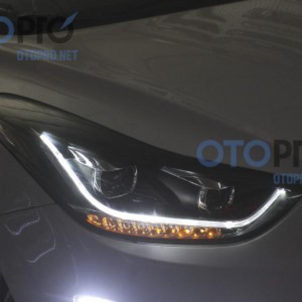 Đèn pha độ LED nguyên bộ cho xe Hyundai Elantra 2012-2014