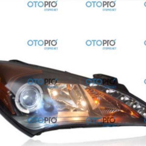 Đèn pha độ LED nguyên bộ cho xe Hyundai Genesis Coupe