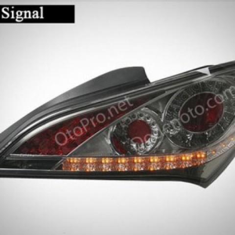 Đèn hậu độ LED nguyên bộ cho xe Genesis Coupe màu khói