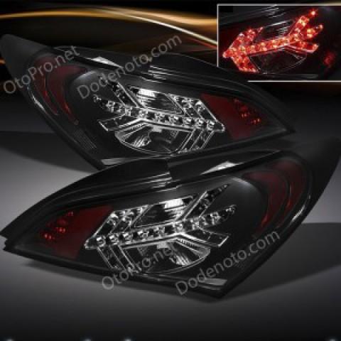 Đèn hậu độ LED nguyên bộ cho xe Genesis Coupe mẫu mũi tên