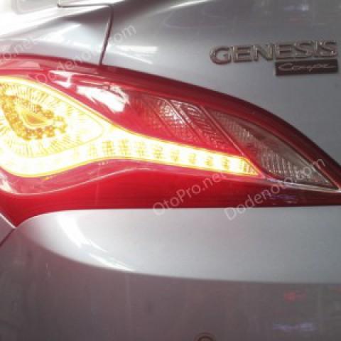 Đèn hậu độ LED nguyên bộ cho xe Genesis Coupe