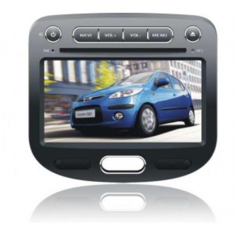 Màn hình đầu DVD cho xe Hyundai i10 2007-2011