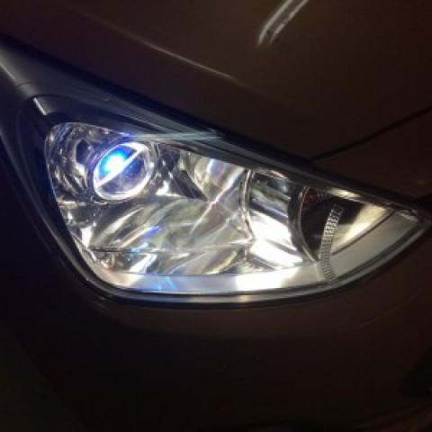 Hyundai I10 độ bi domax