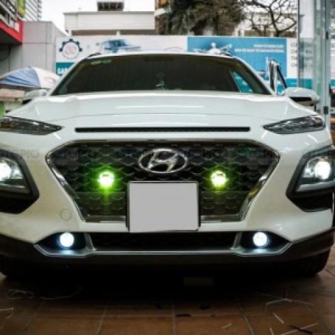 Hyundai Kona độ 4 bi gầm GT Taiwan