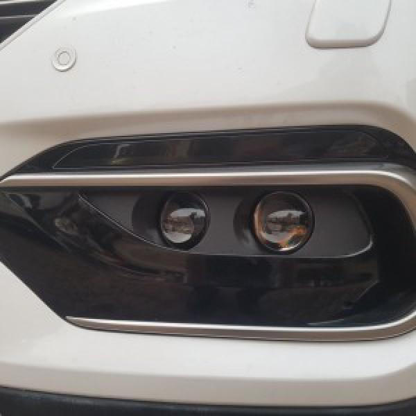 Hyundai Santa Fe độ 4 bi gầm tăng sáng