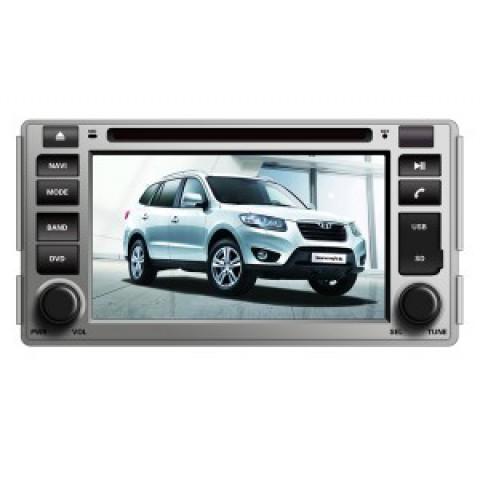 Màn hình đầu DVD cho xe Hyundai Santafe 2009-2011