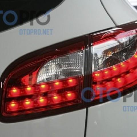Đèn hậu độ LED nguyên bộ cả vỏ Santafe CM mẫu Audi Q7