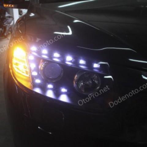 Đèn pha LED nguyên bộ cả vỏ cho xe Santafe CM mẫu Audi Q7