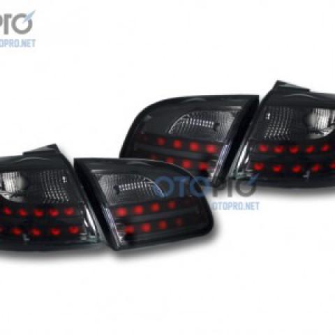Đèn hậu LED nguyên bộ cả vỏ Santafe CM mẫu Audi Q7 khói