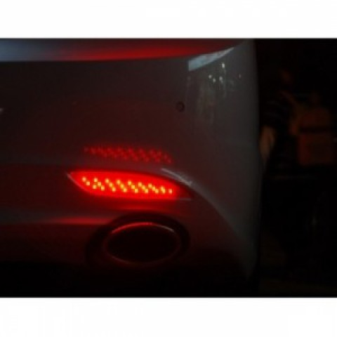 LED đèn phản quang sau cho Sonata YF nguyên bộ cả vỏ nhựa