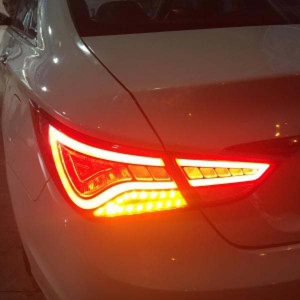 Sonata 2010 lên đèn hậu mobis, led pha a8, led mí, led gầm
