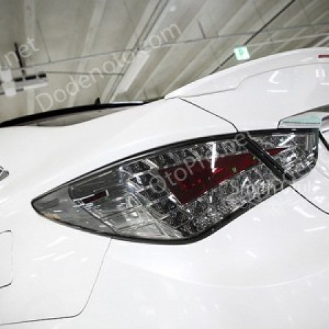 Đèn hậu LED nguyên bộ cho Sonata Y20 kiểu Audi Q5 màu khói