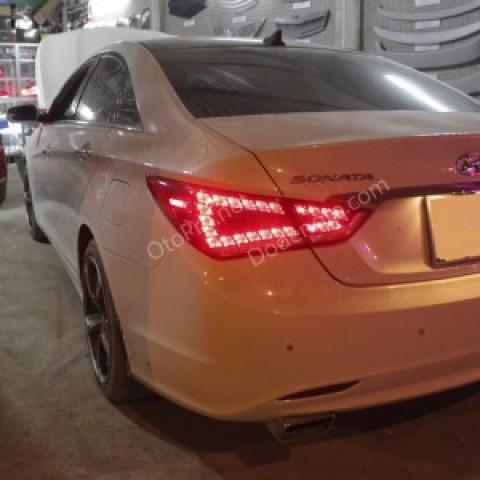 Đèn hậu LED nguyên bộ cả vỏ mẫu Audi Q5 cho Sonata Y20