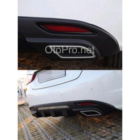 Ốp bô kiểu Lexus cho xe Hyundai Sonata Y20 mẫu 2