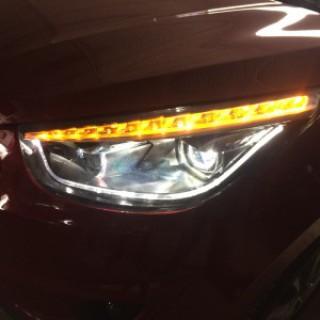 Hyundai Tuscon 2011 lắp đèn nguyên bộ