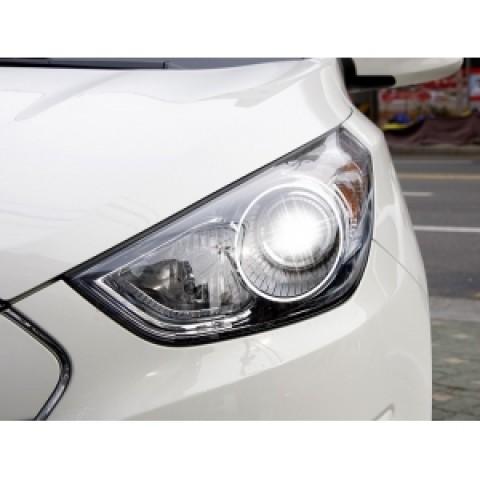 Đèn pha độ LED nguyên bộ cho xe  Tucson IX chính hãng Mobis