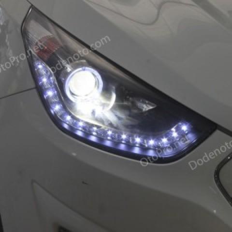 Đèn pha độ nguyên bộ cho Tucson IX mẫu LED hạt kiểu 2