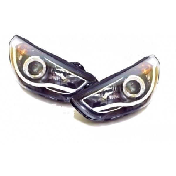 Đèn pha LED nguyên bộ cho xe Tucson IX mẫu D8