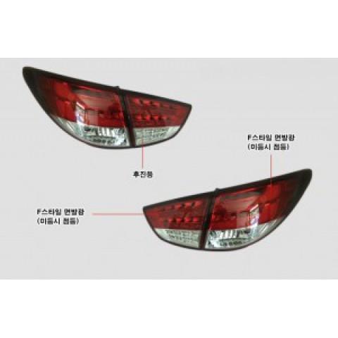Đèn hậu LED nguyên bộ cho xe Tucson ix kiểu F mẫu BMW