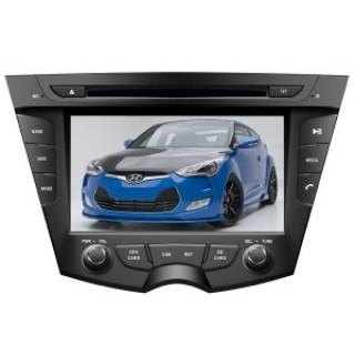 Màn hình đầu DVD cho xe Hyundai Veloster 2011-2012
