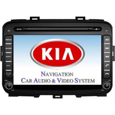 Màn hình đầu DVD cho xe Kia Carens 2012-2013