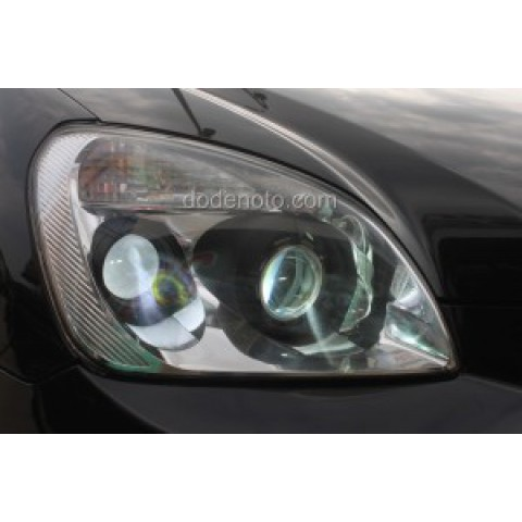 Độ đèn 2 bi xenon, projector cho xe Kia Carens