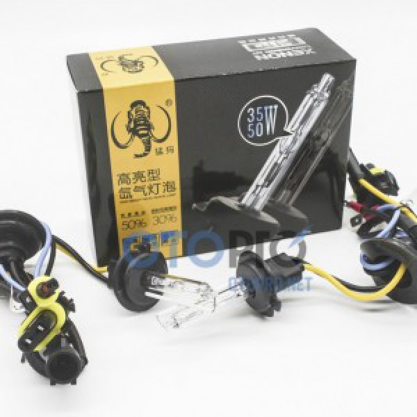 Lắp bóng tăng sáng xenon chân H7 cho xe Carens